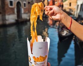 Dinner at Dal Moro's - Venice