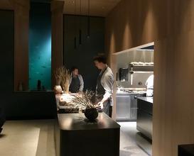 Kitchen during service