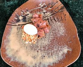 Madagascan chocolate, salted Japanese plum, fennel