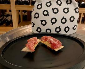 Toro bravo con pan suflado