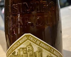 Cerveza de trigo Casimiro Mahou