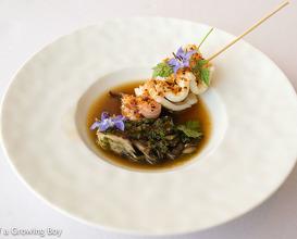 Lovely lunch at Michel Bras Toya Japon