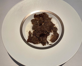 Linguine with winter truffle from Spain