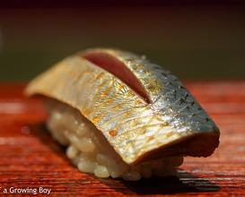 Lunch at Sushi Kimura (すし 喜邑)