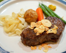Dinner at Shima