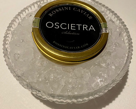 Zacapa Rum Ice Cream / Oscietra/ Mole