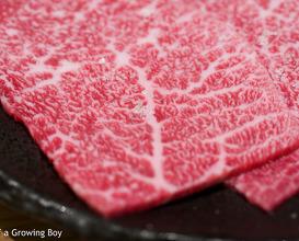 Lots of beef at Nikushou