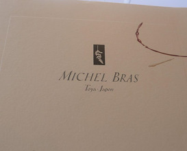 Lunch at Michel Bras Toya