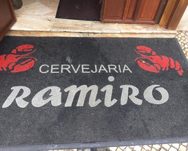 Lunch at Cervejaria Ramiro