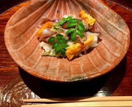 Dinner at Yamagishi