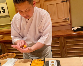 Dinner at Sakai (鮨 さかい)