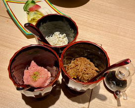 Dinner at 二条 やま岸 Nijo Yamagishi
