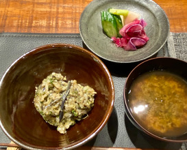 Dinner at Den