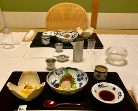 Dinner and Breakfast at Ryokan Onyado Chikurintei