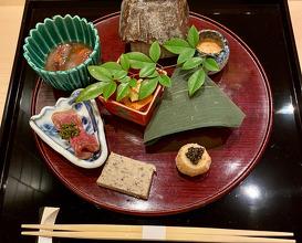 Dinner at Ginzakirakutei (銀座・器楽亭)