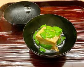 Dinner at Kataori (片折)