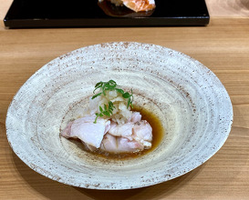 Pop-up Lunch at NARISAWA Bees Bar of Sushijin (鮨人) From Tyoama