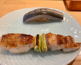 Lunch at Sushi Jin (鮨人)