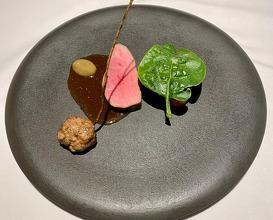 イベリコ豚/ヘタ紫茄子 Iberlico pork / Eggplant