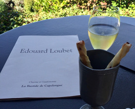 Lunch at La Bastide de Capelongue