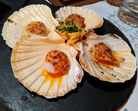 Dinner at Maison du Colombier