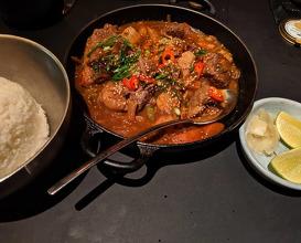 Dinner at Momofuku Kawi
