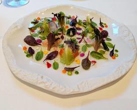 Dinner at Lasarte Restaurant