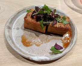 Dinner at Torien-nyc