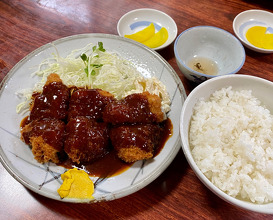 Lunch at みどりや