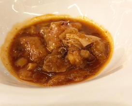 Dinner at Saddle Madrid