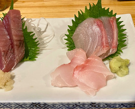 Late night sashimi  at Shukuzu