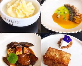 Dinner at Maison Lú