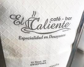 Dinner at El Caliente
