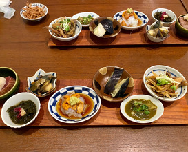 Dinner at Sarashina Fujii (更科藤井)
