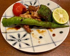 Dinner at Sarashina Fujii (更科藤井)