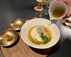 Dinner at 밍글스 - mingles