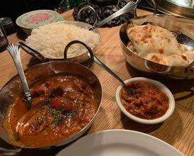 Dinner at Calcutta Cricket Club