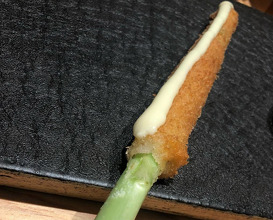 Dinner at 串の坊六本木ヒルズ店 kushinobo1950