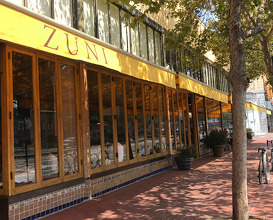 Dinner at Zuni Café