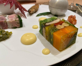 Dinner at 銀座大石
