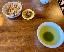 Lunch at 丸八たきや