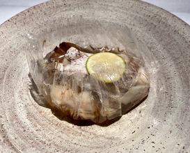 Rosy Seabass, Ishikawa Maitake Mushroom, Nigata