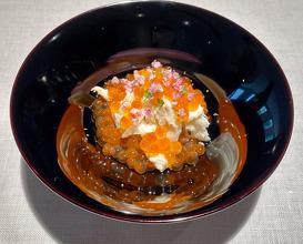 Watari Crab, Aichi Salmon Roe, Hokkaido