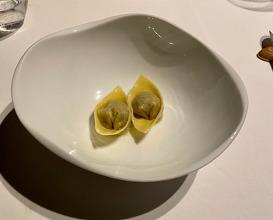 Dinner at L'Effervescence (レフェルヴェソンス)
