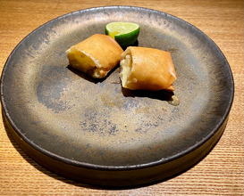 Dinner at toshi (隼)