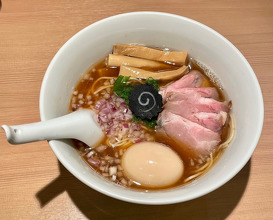 Dinner at Ramenhayashida (らぁ麺 はやし田 新宿本店)