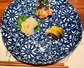 Dinner at 人形町 田酔