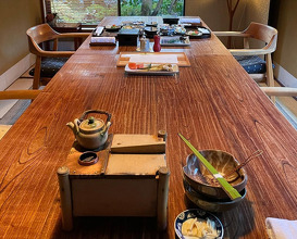 Dinner at The Kayotei