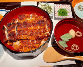 Lunch at うなぎ処 山道