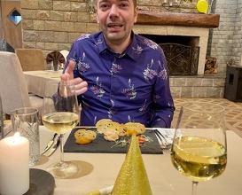 Dinner at Hotel Moreni